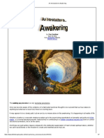 An Introduction to Awakening