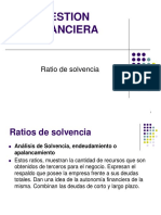 Ratio Solvencia