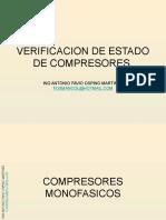 Verificacion de Estado de Compresores