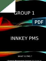 Group 1 ( Innkey PMS )