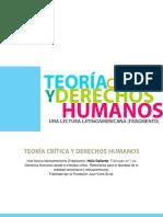 Gallardo, H. Teoría Crítica