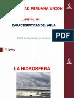 Clase No 03 - Hidrosfera