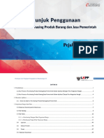 USER GUIDE E-Purchasing v.5 Pejabat Pengadaan
