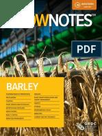 GRDC GrowNotes Barley Western