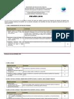 Distribución de Ítems Coles Técnicos Español 2018