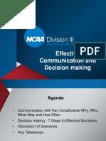 New AD Orientation - Effective Communication - BB