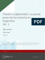 Poesía y subjetividad. La poesía ...DE LOS 90. ANAHÍ MALLOL.pdf
