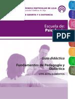 2. Fundamentos de Pedagogia y Didactica