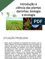 Introdução à Ciência Das Plantas Daninhas