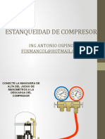 ESTANQUEIDAD COMPRESORES