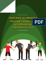 Unidade 5 - Texto Base - Prevenir e Atuar Com Autoridade Na Tentativa de Cola