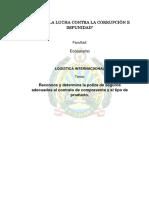 Logistica Internacional(Poliza de Seguros)