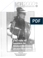 The role of women in United Nations peacekeeping
