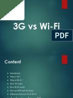 3g vs wifi
