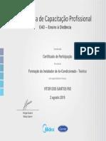 Formação Do Instalador de Ar-Condicionado - Teórico EAD MideaCarrier