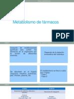 Metabolismo de Fármacos