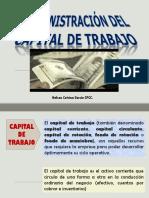Administración Del Kapital de Trabajo