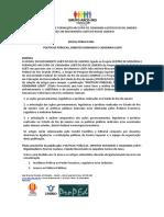 Atualizado - Edital Livro Políticas Públicas