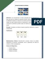 Elaboración de Incrustaciones de Resina y Corona de Acrilico