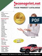 Econoprint Catalogue 2019