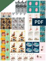 Ilustraciones 1 Bichis Editable Tabloide