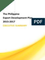 PEDP Executive Summary