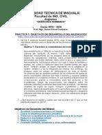 Practica 1 Dh Objetivos de Desarrollo Del Milenio 2000-2015