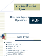 Bits,datatypes,& operationg ch2