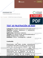 test frustracion