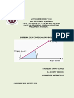 Sistema de Coordenadas Polares Trabajo