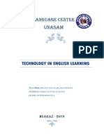 Technology in English Learning Cid
