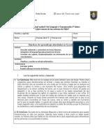 Evaluacion Final Unidad 3, 5 Basico
