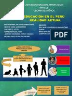 Educación en El Perú Situación Actual