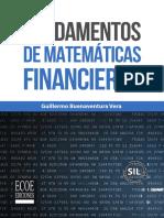 Matematicas Financieras de Guillermo Buenaventura