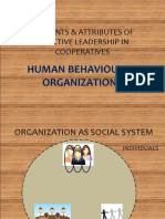 Human Behaviour in Organizations (Modesto Detera's Conflicted Copy 2011-10-11)