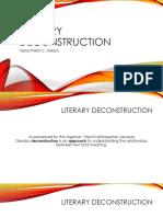 Literary Deconstruction