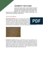 EL DOCUMENTO Y SUS CLASES 1.docx