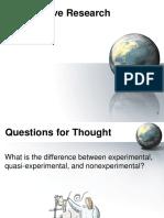 Unit 2 Quantitative Research Design
