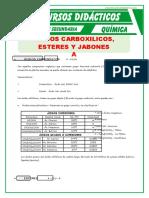 Acidos Carboxilicos y Esteres Para Quinto de Secundaria