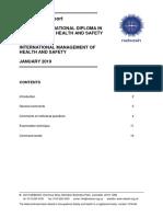 Unit Ia Examiners Report Jan19