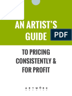 Artwork Archive Guide to Pricing
