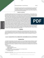 (1223) Validation of Alternative Microbiological Methods Usp39
