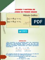 Ecuaciones y Sistemas de Ecuaciones NUS162F