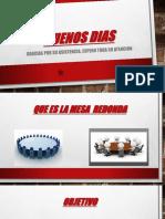 BUENOS DIAS Mesa Redonda