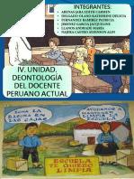 Deontologia Del Docente Peruano
