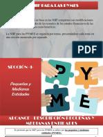 NIIF para PYMES Sección 1 y 2