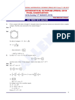 Prmo Paper With Solution