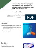 Presentación 1_ Disolución Ranitidina