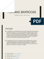 Formas Barrocas