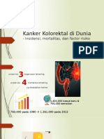 Colorectal cancer in the world - incidence, mortality and risk factors - Indo copy.pptx
